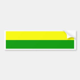 Flagge von Den Haag Autoaufkleber