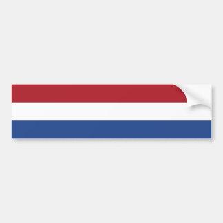 Flagge von den Niederlanden Autoaufkleber