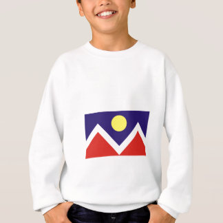 Flagge von Denver Sweatshirt