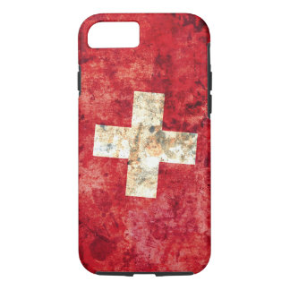 Flagge von der Schweiz iPhone 8/7 Hülle