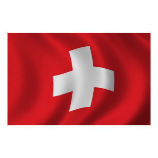schweiz flagge poster designs. Black Bedroom Furniture Sets. Home Design Ideas