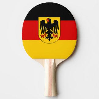 Flagge von Deutschland - Bundesdienstflagge Tischtennis Schläger