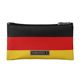 Flagge von Deutschland Kosmetiktasche