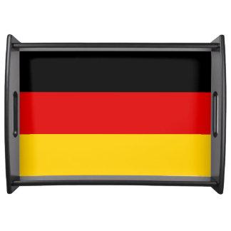 Flagge von Deutschland oder von Deutschland Tablett