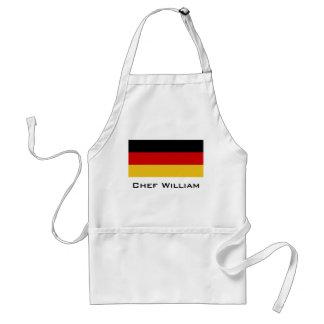 Flagge von Deutschland Schürze
