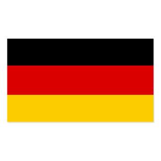 Flagge von Deutschland-Visitenkarten Visitenkarten