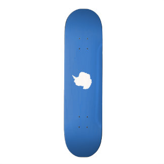 Flagge von die Antarktis-Skateboard Skateboard Bretter