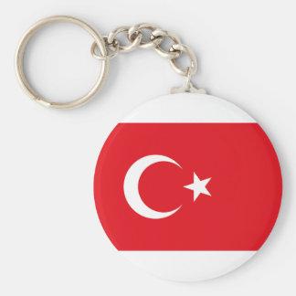 Flagge von die Türkei-Produkten Standard Runder Schlüsselanhänger