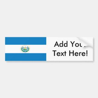 Flagge von El Salvador Autoaufkleber