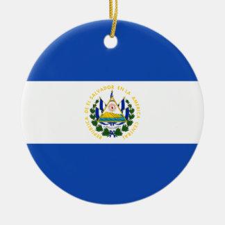 Flagge von El Salvador - Bandera De El Salvador Keramik Ornament