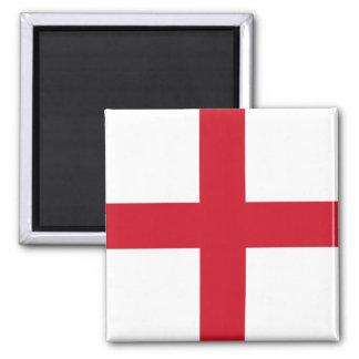 Flagge von England-Magneten Quadratischer Magnet