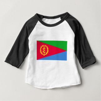 Flagge von Eritrea - የኤርትራሰንደቅዓላማ - علمإريتريا Baby T-shirt