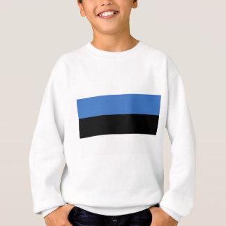 Flagge von Estland-Produkten Sweatshirt