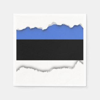 Flagge von Estland Serviette