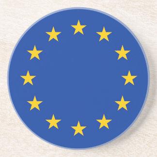 Flagge von Europa, europäische Flagge Untersetzer