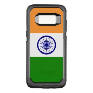 Flagge von Fall Indiens Samsung OtterBox OtterBox Commuter Samsung Galaxy S8 Hülle