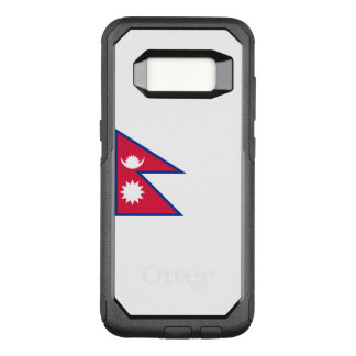 Flagge von Fall Nepals Samsung OtterBox OtterBox Commuter Samsung Galaxy S8 Hülle