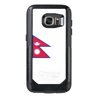 Flagge von Fall Nepals Samsung OtterBox OtterBox Samsung Galaxy S7 Hülle