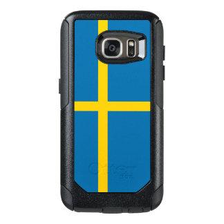 Flagge von Fall Schwedens Samsung OtterBox OtterBox Samsung Galaxy S7 Hülle