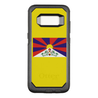 Flagge von Fall Tibets Samsung OtterBox OtterBox Commuter Samsung Galaxy S8 Hülle