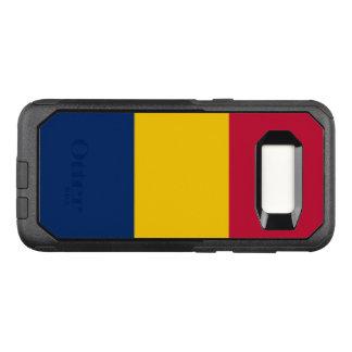 Flagge von Fall Tschads Samsung OtterBox OtterBox Commuter Samsung Galaxy S8 Hülle