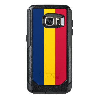 Flagge von Fall Tschads Samsung OtterBox OtterBox Samsung Galaxy S7 Hülle