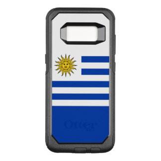 Flagge von Fall Uruguays Samsung OtterBox OtterBox Commuter Samsung Galaxy S8 Hülle