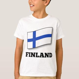 Flagge von Finnland-Entwurf T-Shirt