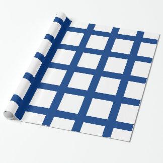 Flagge von Finnland Geschenkpapier