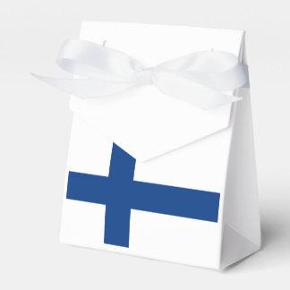 Flagge von Finnland Geschenkschachtel