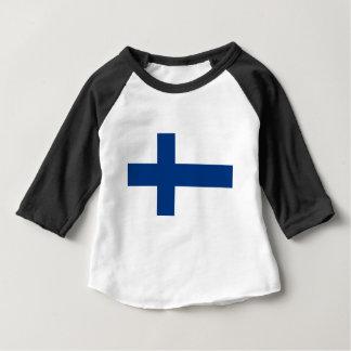 Flagge von Finnland (Suomen lippu, Finlands Baby T-shirt