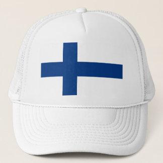 Flagge von Finnland (Suomen lippu, Finlands Truckerkappe