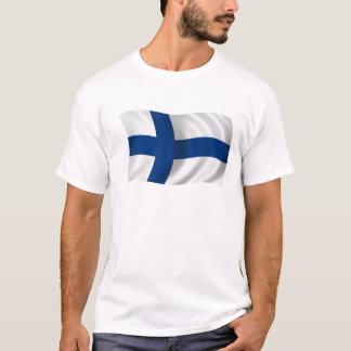 Flagge von Finnland T-Shirt
