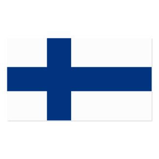 Flagge von Finnland-Visitenkarten Visitenkarten