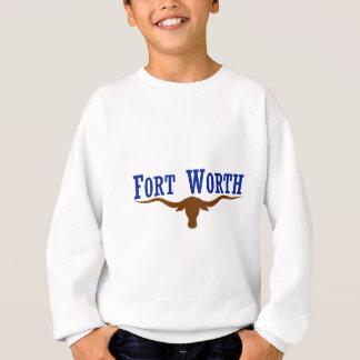 Flagge von Fort Worth Texas Sweatshirt