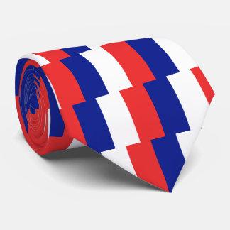 Flagge von Frankreich-Franzosen Tricolore Krawatte