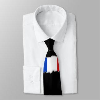 Flagge von Frankreich Krawatte