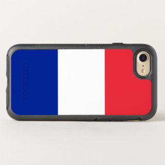 Flagge von Frankreich OtterBox iPhone Fall OtterBox Symmetry iPhone 8/7 Hülle
