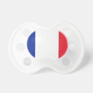 Flagge von Frankreich Schnuller
