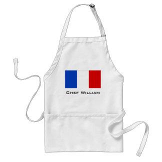 Flagge von Frankreich Schürze
