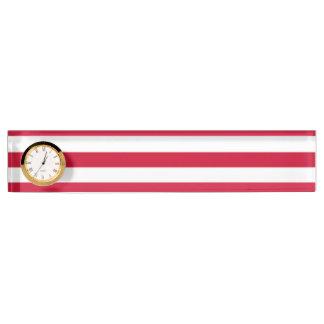 Flagge von geht namensplakette