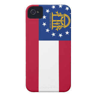 Flagge von Georgia iPhone 4 Cover