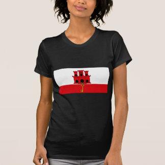 Flagge von Gibraltar T-Shirt