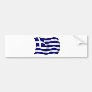 Flagge von Griechenland Autoaufkleber