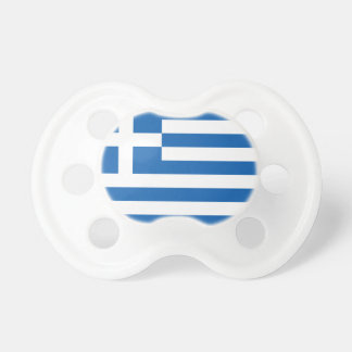 Flagge von Griechenland Baby Schnuller