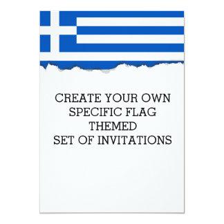 Flagge von Griechenland Karte