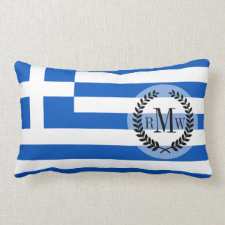 Flagge von Griechenland Kissen
