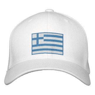 Flagge von Griechenland kundengerecht Bestickte Kappe