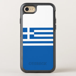 Flagge von Griechenland OtterBox iPhone Fall OtterBox Symmetry iPhone 8/7 Hülle