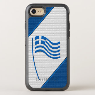 Flagge von Griechenland OtterBox Symmetry iPhone 8/7 Hülle